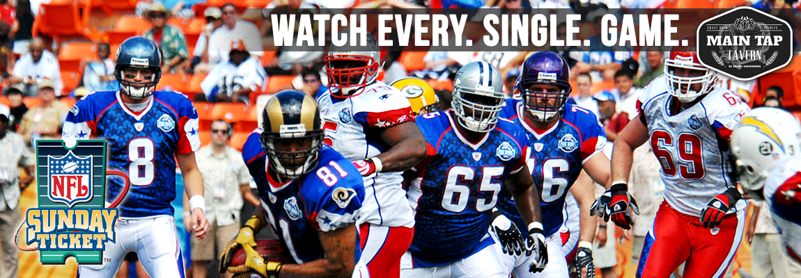 Every NFl Game at Main Tap!
