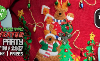 12/15 – Ugly Xmas Sweater Party
